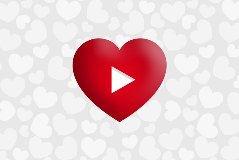 Valentine's day video advertising