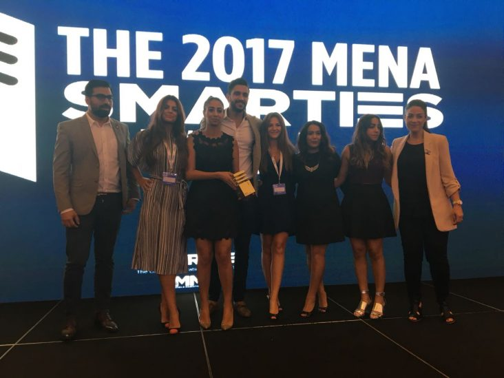 MMA MENA Smarties Blis Wins Gold with adidas and Spark Foundry for adidas NMD