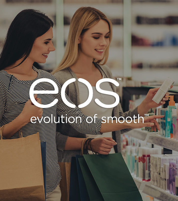 EOS thumbnail_Logo_women shopping for beauty products