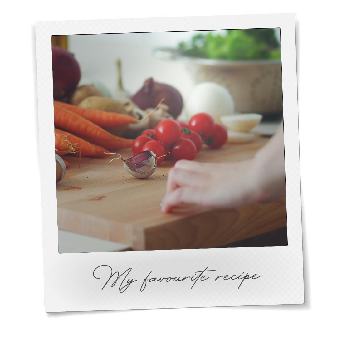 tomatos being cut